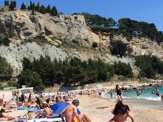 Calanques : Cassis beach