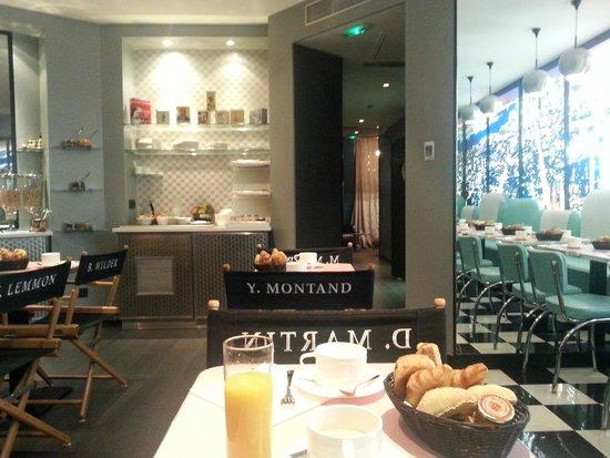 Platine Hotel: Comedor de desayuno