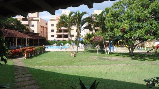 Hotel Pousada Caminho da Praia: Pousada área externa