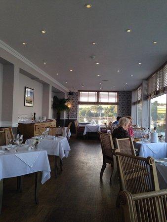 The Greenbank Hotel : Dining room