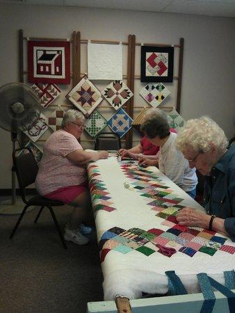 Heritage Village Museum: Volunteer Quilters
