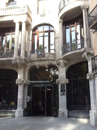 Hotel Casa Fuster: Great welcome to a gorgeous hotel