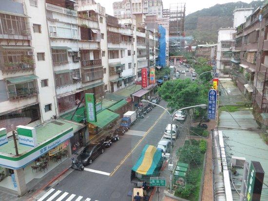 Beauty Hotels Taipei - Starbeauty Resort : street view across