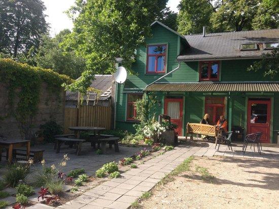 Hotel Raibie Logi : Rückseite des Hauses