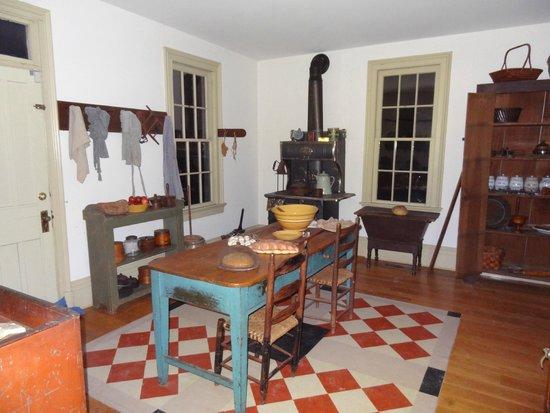 Heritage Village Museum: Elk Lick House Kitchen