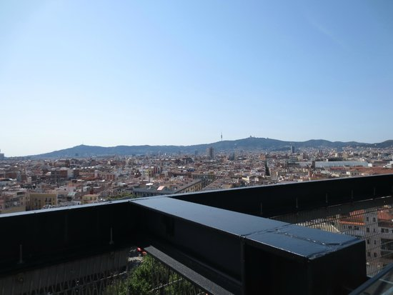 Barcelo Raval: View from roof top bar
