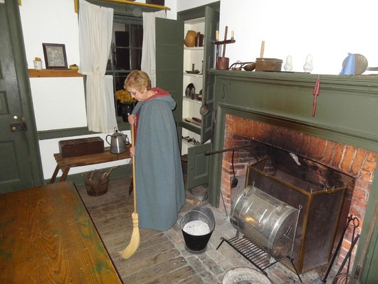 Heritage Village Museum: Sweeping in Vorhes House