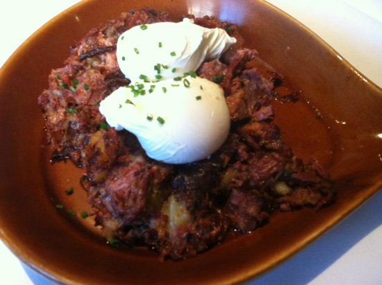 BRABO Restaurant: Best corned beef hash on the planet