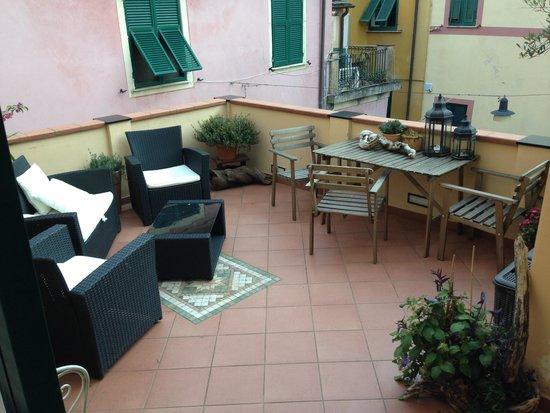Da Vice Rooms: Relaxing Terrace