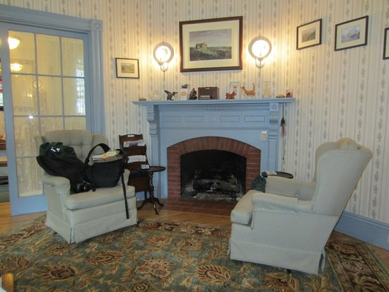 Aysgarth Station Bed and Breakfast: Living Room
