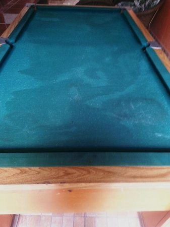 Guaruja Hostel: Forget the pool table