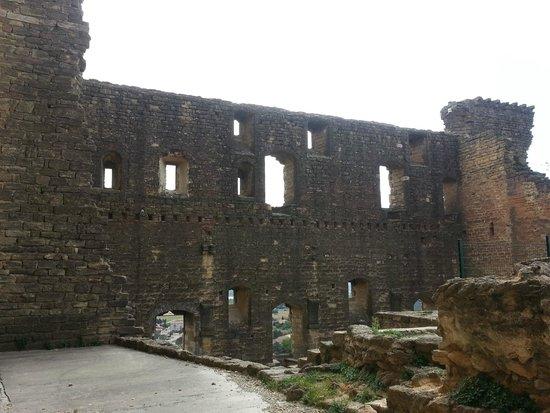 La Cave du Verger des Papes: Ruínas do Castelo.