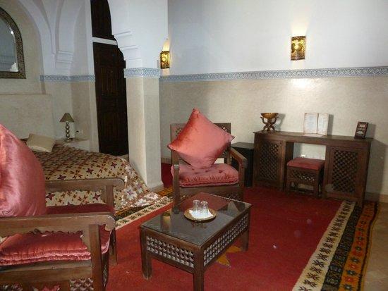 Riad el Noujoum: suite de l'étage