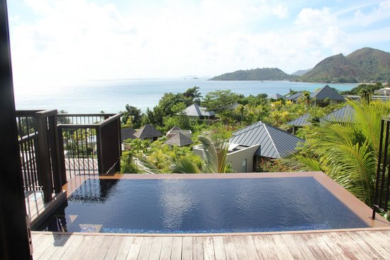 Raffles Seychelles: veiw from room