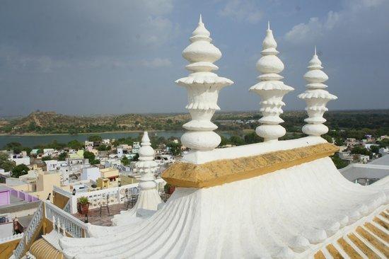 Deogarh Mahal: Vue du toit