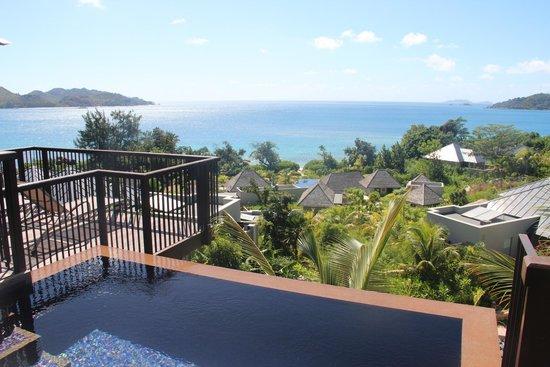 Raffles Seychelles: pluge pool