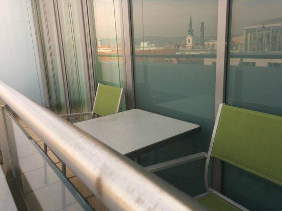 Novotel Wien City : balcony