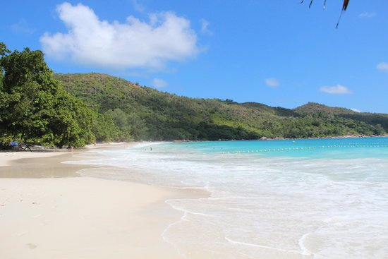 Raffles Seychelles: Anse Lazio - One of the best beaches in the world!
