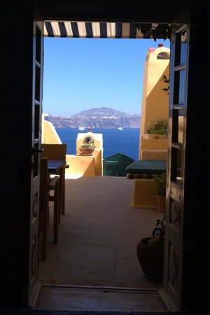 Zoe-Aegeas Traditional Houses : View from living room