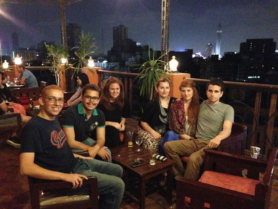 Travelers House: Cairo night