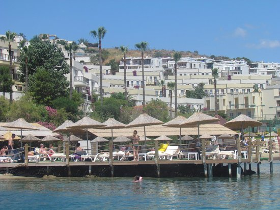 WOW Bodrum Resort : View from sea