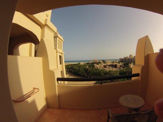 Hotel Riu Touareg: view from balcony