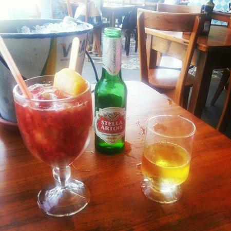 Boteco Praia : Caipilé - O melhor drink do bar.