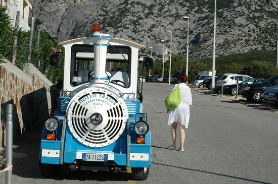 Cala Gonone Beach Village : collegamento alla spiaggia