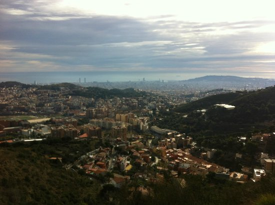 Leave it to Barcelona: A gorgeous view of the city!