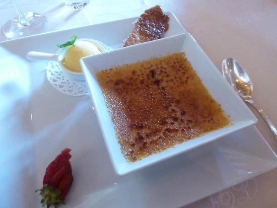 Le Morvan : Crème brûlée