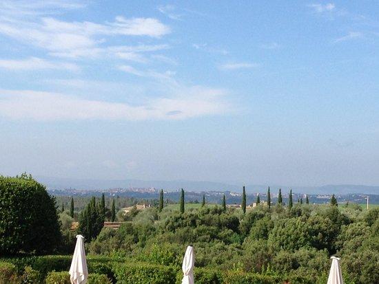 Borgo Scopeto Relais: Vue du restaurant