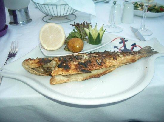 Voyage Belek Golf & Spa : Fischrestaurant