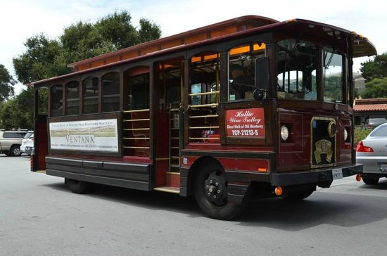 Wine Trolley Tours: The Trolley