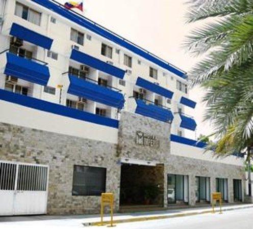 Imperial Hotel: Fachada del Hotel