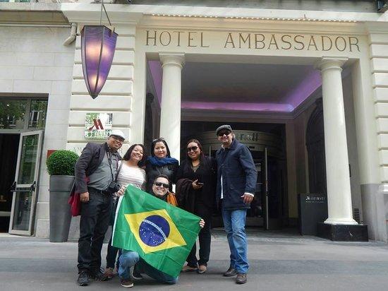 Paris Marriott Opera Ambassador Hotel: Dias inesquecíveis!!!