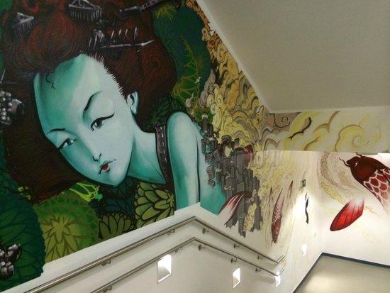 La Casa Encendida: Wall art