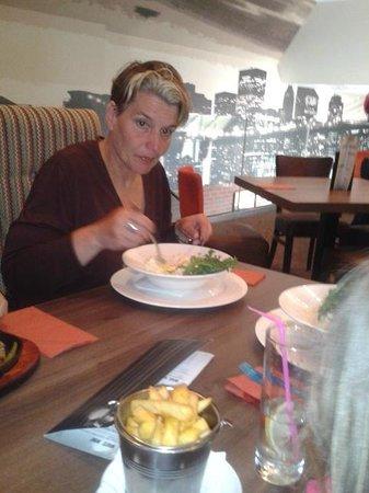 dinner at oscars saltcoats