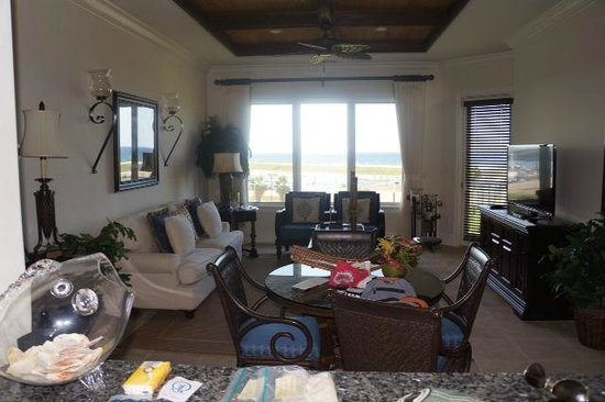 Grand Isle Resort & Spa : Our living room