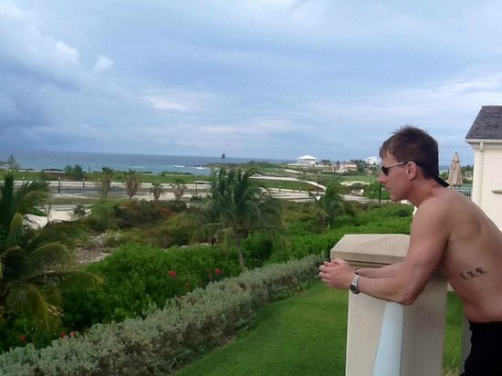 Grand Isle Resort & Spa: Balcony in room