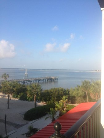 Charleston Harbor Resort & Marina: beautiful view from the room