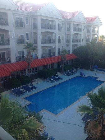 Charleston Harbor Resort & Marina : beautiful view from the room