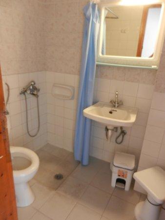 Hotel Zafiria : Salle de bain