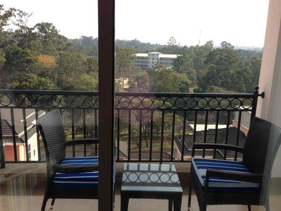 Villa Rosa Kempinski Nairobi: Balcony View