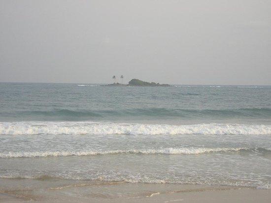 Busua Beach Resort: Busua Island