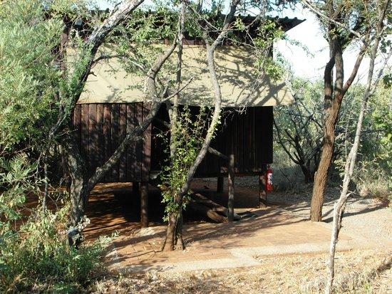 Mosetlha Bush Camp & Eco Lodge: Typical Mosetlha cabin
