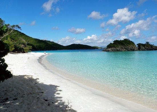 Trunk Bay: Beautiful beach