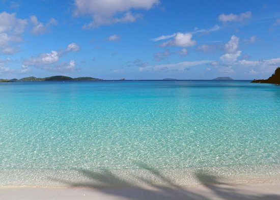 Trunk Bay: Calm waters