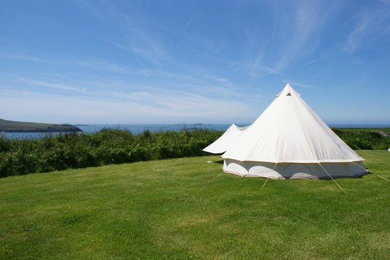 Not Just Any Tent: Our Stunning Pitch