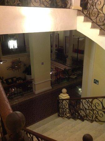 Piedra de Agua Hotel Boutique : escaleras