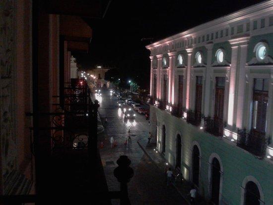 Piedra de Agua Hotel Boutique : vista del balcon